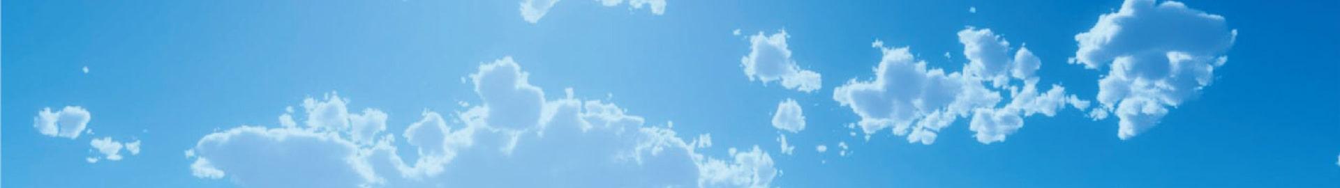 青空の背景イメージ